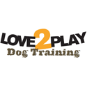 Love 2 Play Dog Training Logo