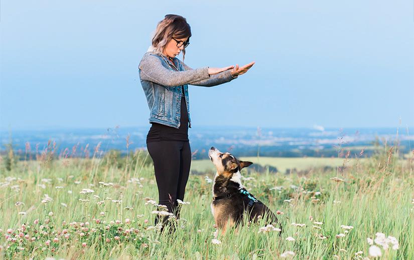 AnimalKind accredited trainer Vanessa Charbonneau